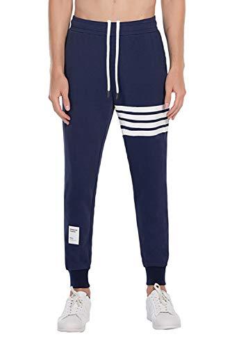 Extreme Pop Uomo Pantaloni Tuta mimetici Militari Pantaloni Stampa Riflettente UK Brand (M, Marine)
