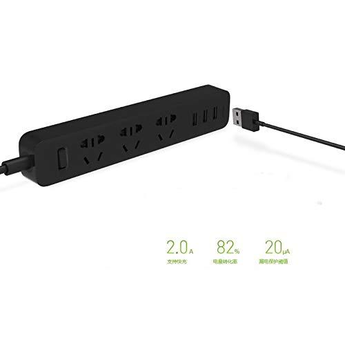 Enchufe WiFi Smart Outlet Protector de sobretensión 3...