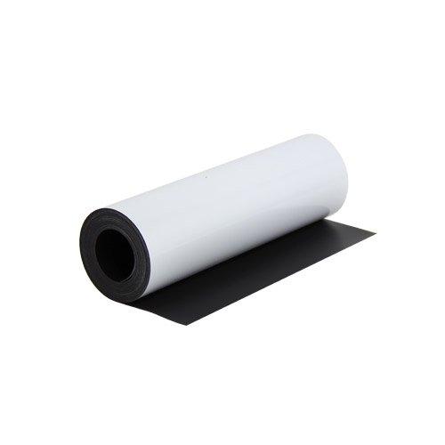 first4magnets FS300GW-1 - Lámina flexible magnética (300 x 0,85 mm x 1 m) color blanco