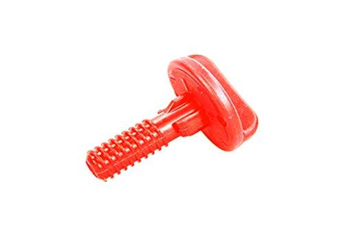 Lascal Schraube 3,8 zur Breitenverstellung rot für Buggy Board Maxi, Buggy Board Mini, Buggy Board Basic