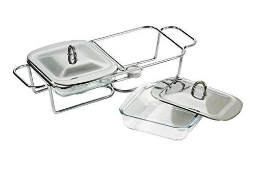 Premier Housewares Abtropfgestell, Klappbar, Chrom