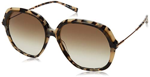 MaxMara MM CLASSY X Sunglasses, KHAKMLKHV, 58 Womens