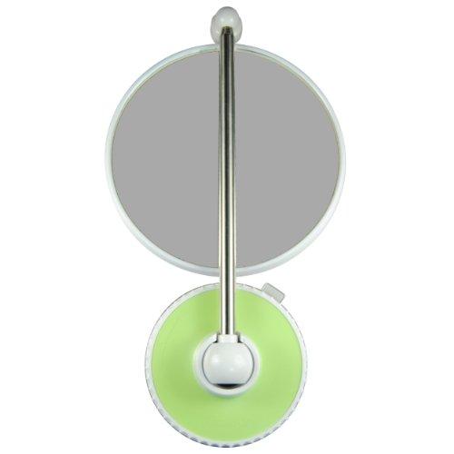 TWISTMIRROR Miroir Intelligent grossissant 10x Couleur: Citron Vert