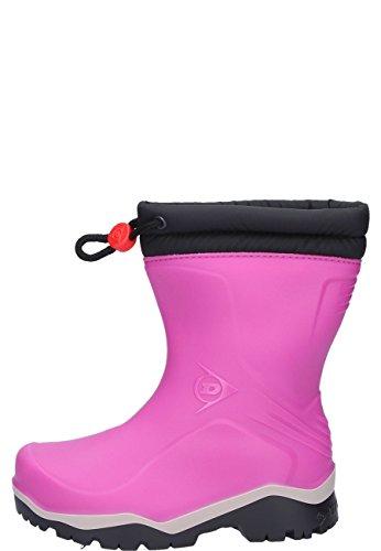 Dunlop Protective Footwear (DUO18) Dunlop Kids Blizzard, Botas de Agua Unisex Niños, Pink, 31 EU