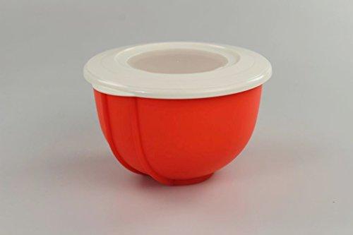 TUPPERWARE Rührschüssel Rührstar 1,5 L orange Schüssel kleiner Rühr Star
