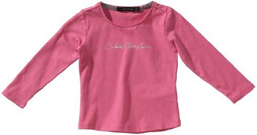 Calvin Klein Jeans Baby Meisje shirt met lange mouwen CGP08AJP508 110 (5) Rosa (Pink (4d9))