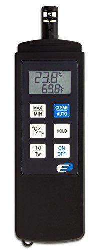 TFA Dostmann Dewpoint Pro digitales Profi-Thermo-Hygrometer, Temperatur- und Luftfeuchtigkeitskontrolle, ideal für professionelle Raumklimamessungen