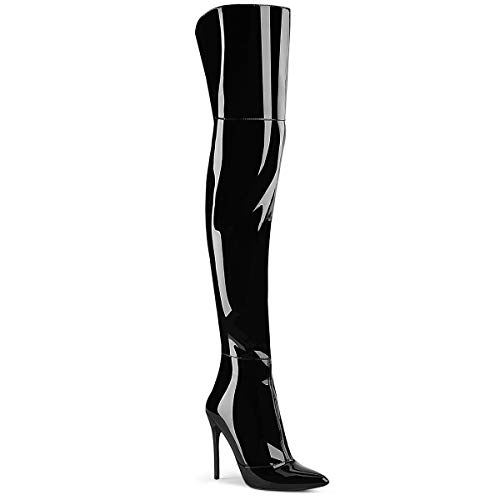 Pleaser Womens COURTLY-3012/B Boots