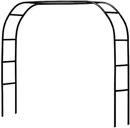 Metal Pergola Arbor,Wedding Arch 7.5 Feet Wide x 6.4 Feet High or 4.6 Feet Wide x 7.9 Feet High,Assemble Freely 2 Sizes,Lightweight Wide Wedding Garden Arbor Bridal Party Decoration White Arbor