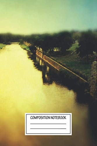 Composition Notebook: Landscapes Carcassonne Southern Cities Wide Ruled Note Book, Diary, Planner, Journal for Writing