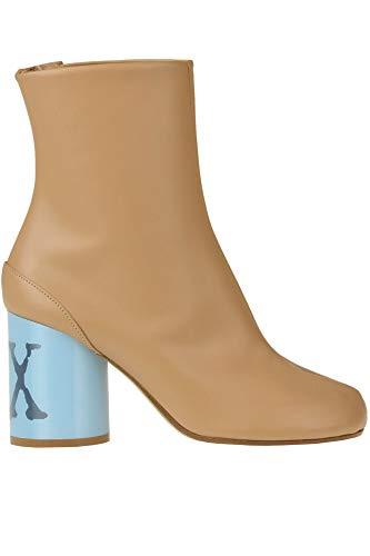 Maison Margiela Tabi Hologram Ankle-Boots Woman Beige 38.5 IT