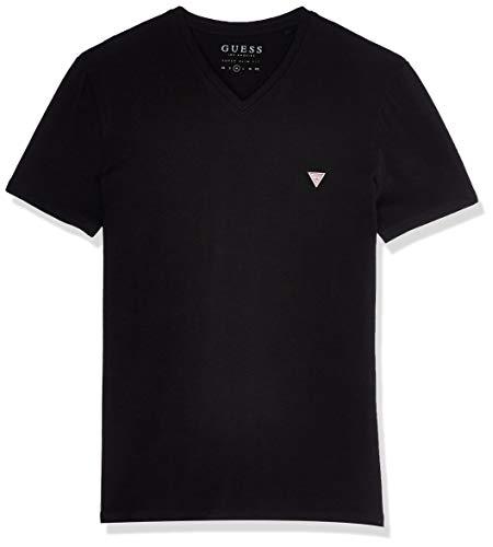 Guess Vn Ss Core Tee T-Shirts & Poloshirts Herren Schwarz - L - T-Shirts Shirt