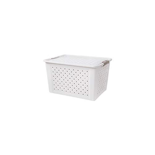 YJWOZ Large Ventilated Storage Box Plastic Storage Box Clothes Quilt Toy Storage Box Storage Box Turnover Box Storage Box (Size : 37×23cm)