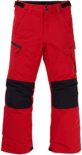 Burton Boys' Exile Cargo Snow Pant, Flame Scarlet, Medium