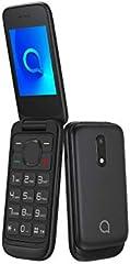 "Alcatel 2053D - Teléfono Móvil Dual SIM de 2.4"" (2G, RAM de 4 MB, Cámara VGA de 1.3 MP), Bluetooth, Negro [Versión ES/PT]"