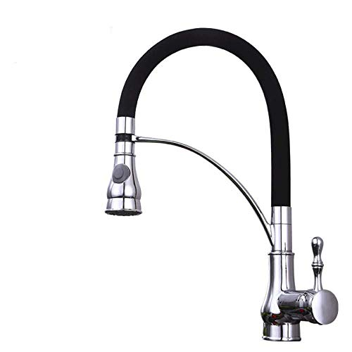 Keukenkraan waterkraan keukenkraan waterkraan keukenkraan bubbler waterreservoir warm en koud waterreservoir 360 graden draaibaar zuiver koper badkamer met standaard UK-aansluitingen