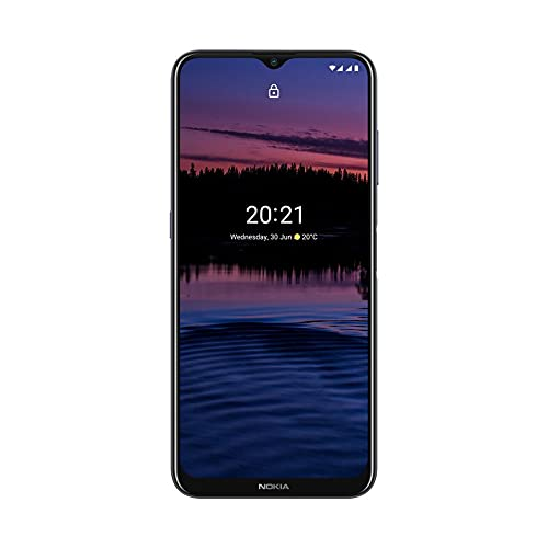 Nokia G20 - Smartphone de 6.5 Pulgadas (WiFi 802.11 b/g/n, BT 5.0, MTK Helio G35 Octa Core, 8xA53 2.3GHz, ROM: 64 GB, 4GB LPDDR 4X, Android 11 64bits, Cámara 48MP/8MP, Cable USB-C OTG) Night