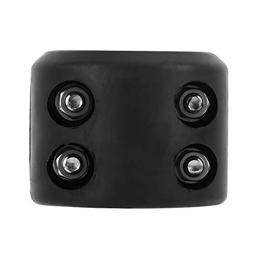 SANON Winch Split Cable Gancho Stopper Rubber Cushion Kit Black para Atv...