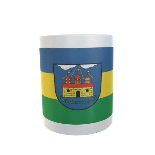 U24 Tasse Kaffeebecher Mug Cup Flagge Doberlug-Kirchhain