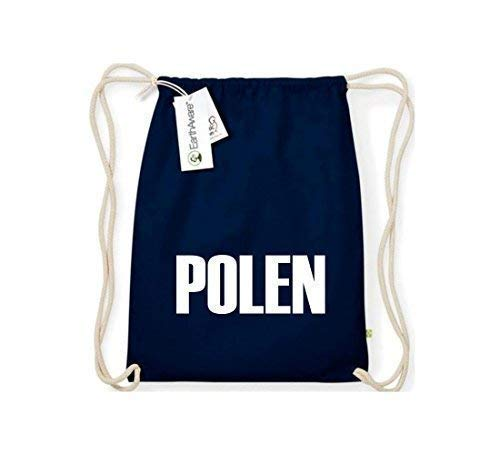 Camiseta stown Organic gymsac Polonia País Países Fútbol, color azul, tamaño talla única