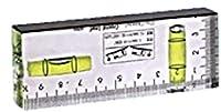 磁石付クリスタルレベルEA694ED-10CLSM・クリアグリーン・シャーペン付