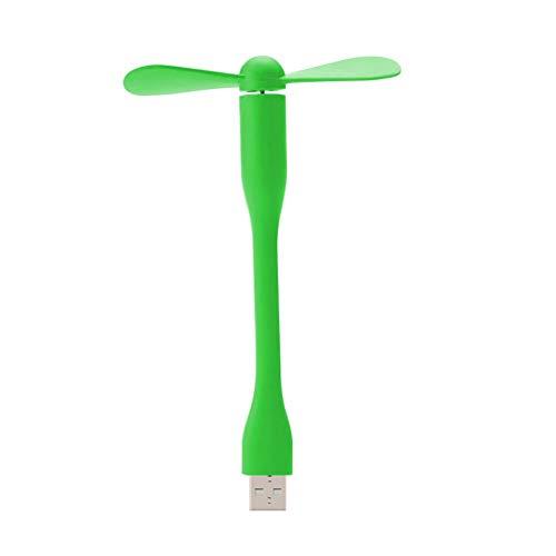 unknow Impression 360-Grad-Drehung Mini Leise Einstellbare und tragbare USB-Schnittstelle Lüfter Büro/Bett/Schlafzimmer/Desktop 14,5_cm B.