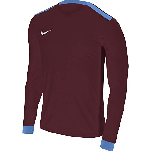 Nike Park Derby II LS Maglietta, Bambini, Park Derby II LS, Rosso (Team Red/University Blue/White), XL