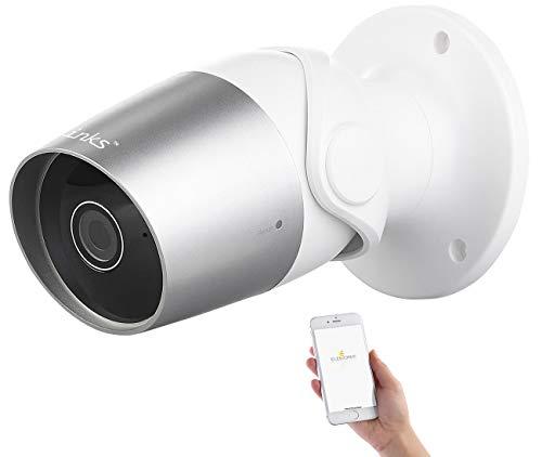 7links Outdoor IP Kamera: Outdoor-IP-Überwachungskamera, Full HD, WLAN, kompatibel zu Echo Show (Outdoor IP Webcam)