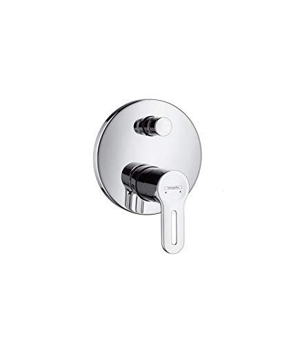 Hansgrohe Metropol S - Grifo monomando para bañera y ducha, color cromado