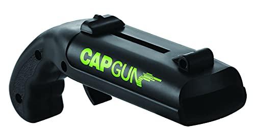 Capgun Cap Gun - Apribottiglie a forma di pistola, apribottiglie, apribottiglie per birra, divertente tappo a corona, pistola, apribottiglie, per casa, bar, feste