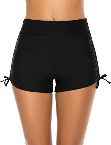 Tournesol Women's Plus Size Swim Shorts Boy Shorts Boardshorts Beach Bikini Tankini Swimwear Boy Leg Bottoms …