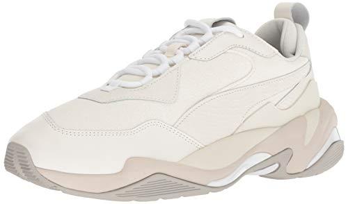 PUMA Men's Thunder Sneaker, Bright White-Gray Violet White, 11 M US