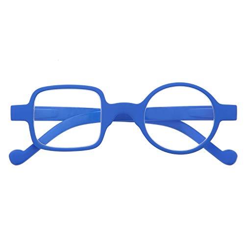 DIDINSKY Gafas de Presbicia con Filtro Anti Luz Azul para Ordenador. Gafas Graduadas de Lectura para Hombre y Mujer con Cristales Anti-reflejantes. Klein +1.5 – DALI