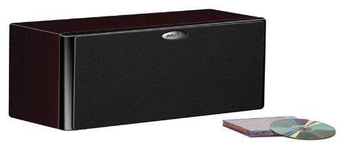 Polk Audio LSiM 704c Smaller Center Channel Speaker | Dynamic Balance & PowerPort Technology | Bi-Wire & Bi-Amp | Midnight Mahogany