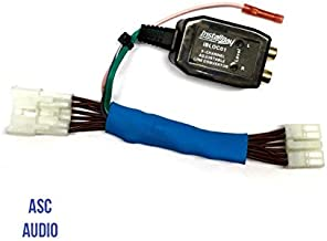 Add An Amp Amplifier Adapter Interface to Factory OEM Car Stereo Radio System for select Toyota Scion Subaru Vehicles- Add Subwoofer Bass Amp etc.- No Factory Premium Amp- Vehicles listed below