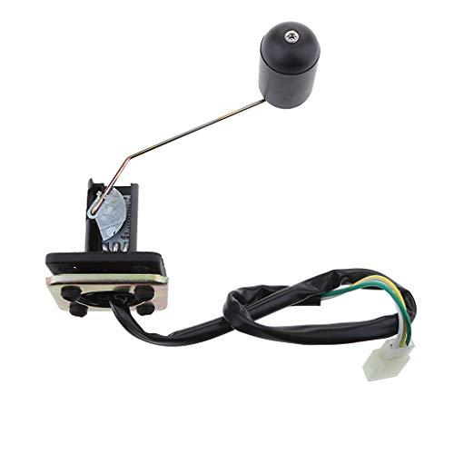 IPOTCH Sensor de Indicador de Nivel de Combustible Del Tanque de Combustible Del Tanque de Gasolina Delantero para Ciclomotor de Scooter