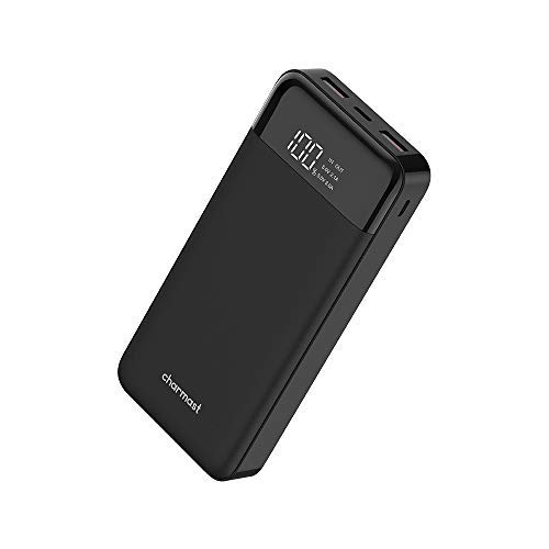 [Upgraded] 26800mAh USB PD Portable Charger QC 3.0 Quick Charge Power Bank External Battery Nintendo Switch/iPhone Xs/XS Max/X 8, MacBook/Type-C MacBook Pro USB Power Delivery Support (Black)