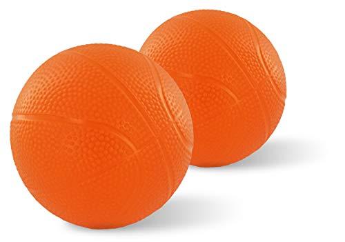 Toddler & Little Kids Mini Replacement Balls - for VTech Smart Shots Sports Center | Small, Toddler Basketball for Baby Basketball Hoop Sets & Toddler Basketball Hoop Sets (2 Pack)