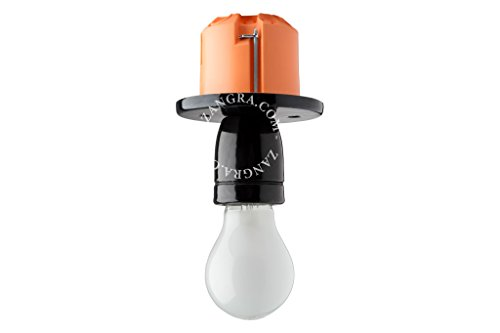 noir Kare Lampe 38217/sol Sultan acier inoxydable 31/cm