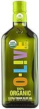 O-Live & Co. 100% Organic Extra Virgin Olive Oil - 33 Fl Oz (1 liter) - First Cold Pressed - USDA Organic Certified