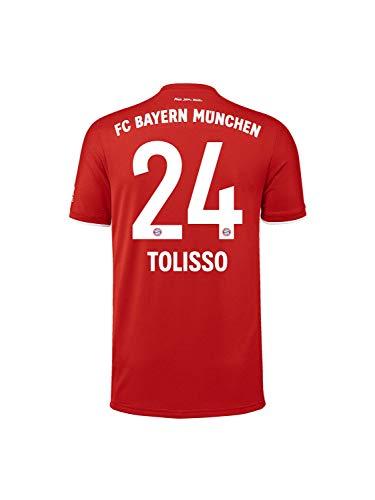 FC Bayern München Home-Trikot Saison 2020/21, Gr. XL, Corentin Tolisso