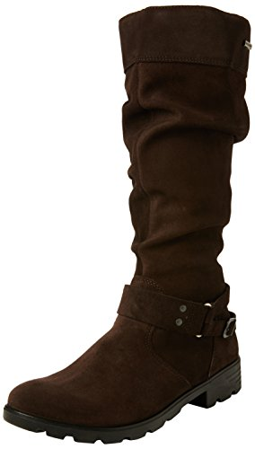 Ricosta Girls' Riana Long Boots, Brown (Café 281), 2.5 UK 35 EU