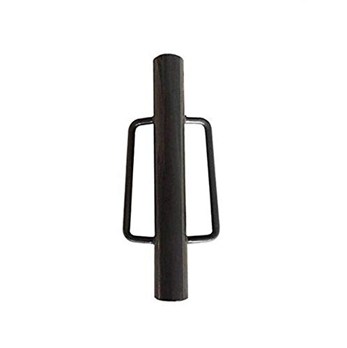 MTB Fence Post Driver with Handle, 18LB Grey. Your Best Garden Partner