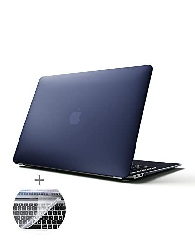 MYMIND® MacBook Air Hülle 13 Zoll mit Tastaturschutz I Superdünnes Apple Hülle für Mac Book M1 I Premium Cover Schutzhülle für optimalen Halt l MacBook Air 2020 Hülle mit Tastaturabdeckung