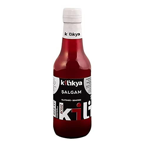 Kilikya キリキヤ シャルガム・スペシャル 250ml 発酵黒にんじんジュース・スペシャル トルコ産 Kilikya Salgam Suyu Special - Acisiz 250ml Fermented Black Carrot Juice Sp