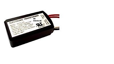 HC Lighting - Halogen / Xenon Electronic Transformer 60 Watt Max output 120 Volt Input / 12 Volt Out Put Potted Transformer