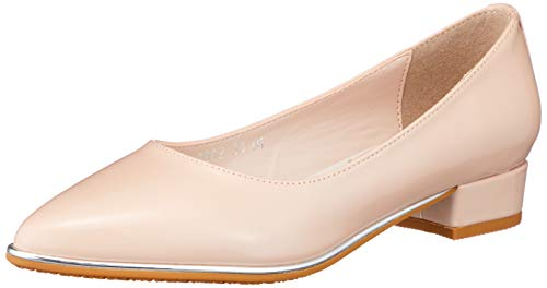 [オリエンタルトラフィック] パンプス レディース ポインテッドトゥ レイン 長靴 防水 ヒール 大きいサイズ 小さいサイズ 歩きやすい R-1012 PINK 22 cm E