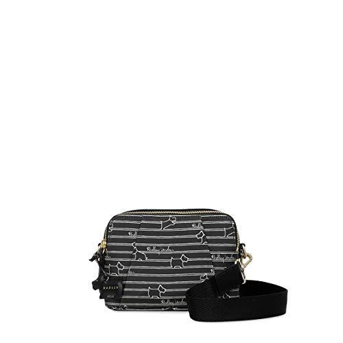 Radley London Radley Stripe Oilskin Small Zip-Top Cross Body Bag