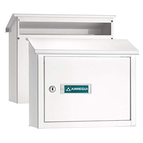 Arregui - Colector de correo V-4071, blanco, acero