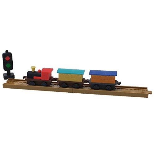 機関車セット[消しゴム]立体おもしろケシゴム/ブリスターパック イワコー 文具 インバウンド グッズ 通販